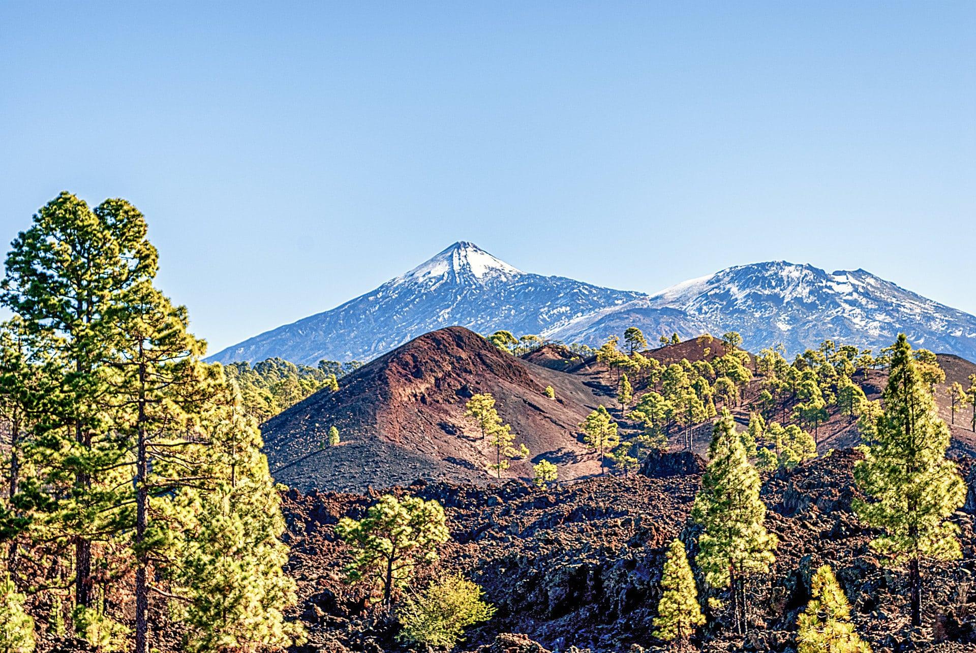 El-Teide-Schnee