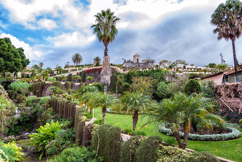 Teneriffa-La-Orotava-Garten